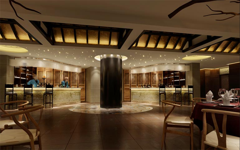 中式酒楼装修设计
