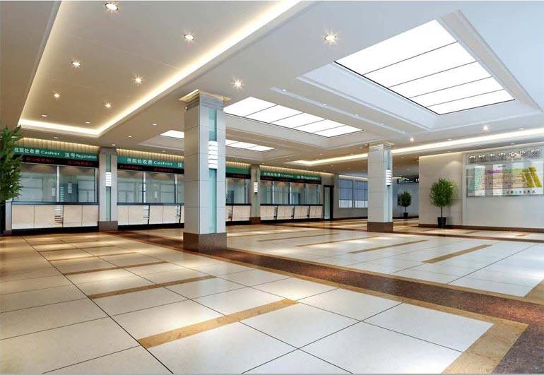 深圳建威装饰:现代医院装修设计案例欣赏
